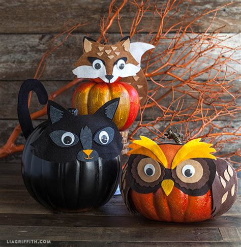 Small Pumpkins Decorating Ideas by No Carve Pumpkin Decorating Ideas Landeelu