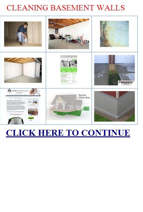 cleaning basement walls cleaning basement walls mold