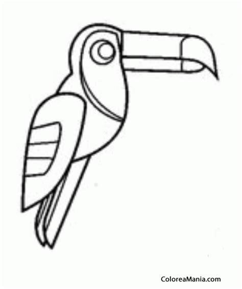 imagenes aztecas para imprimir colorear tucn dibujo azteca aves dibujo para colorear