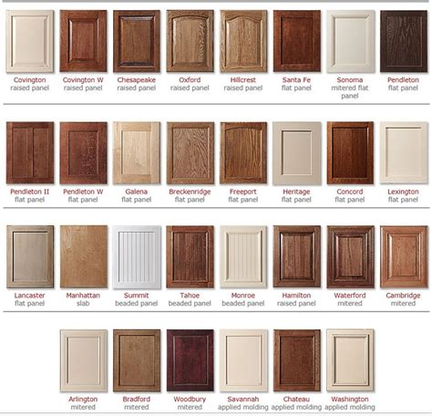 kitchen cabinet door types 17 best ideas about cabinet door styles on pinterest