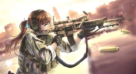 wallpaper girl military 13 anime soldier hd wallpapers background images