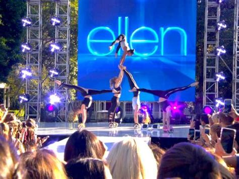 Ellen Hoverboard Giveaway - the acrobots perform ellentv com