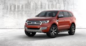 Ford Everest 2015 All New 2015 Ford Everest Unveiled Forcegt