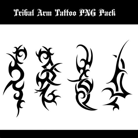 tribal tattoo png tribal arm png pack by daviddarkheartking on deviantart