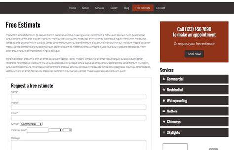 wordpress themes blog quotes roofing wordpress theme responsive wp theme