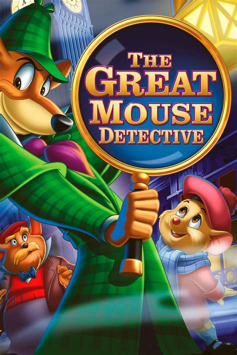 The Detective the great mouse detective 1986 posters the database tmdb