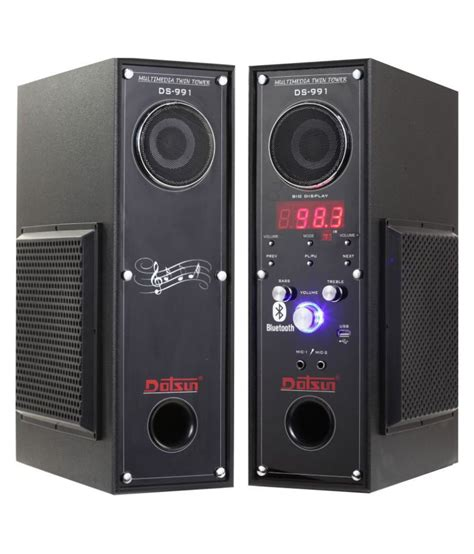 buy dotsun ds  twin tower speaker dvd player home