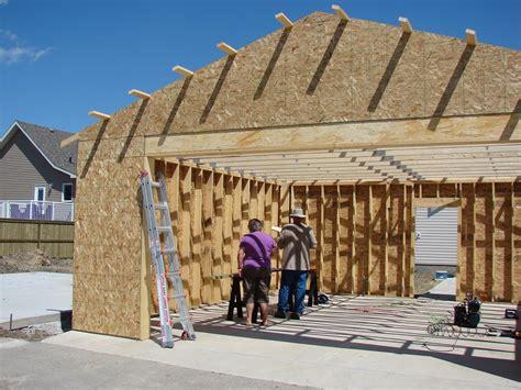 construire un garage ou un carport