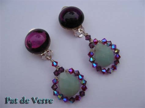boucles d oreilles 224 s 233 rie briolette photo de