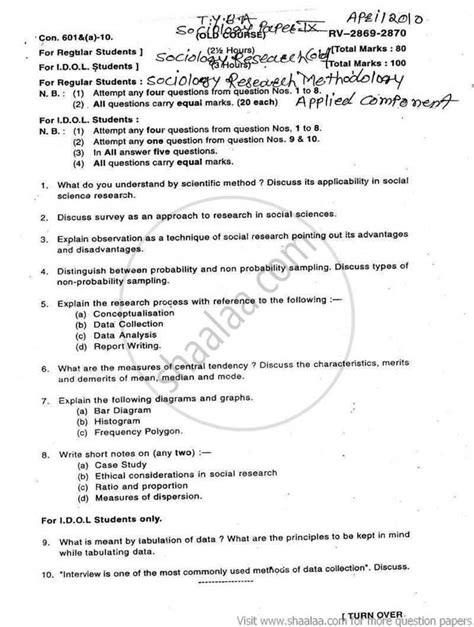 sociological research paper exle of research paper outline sociology