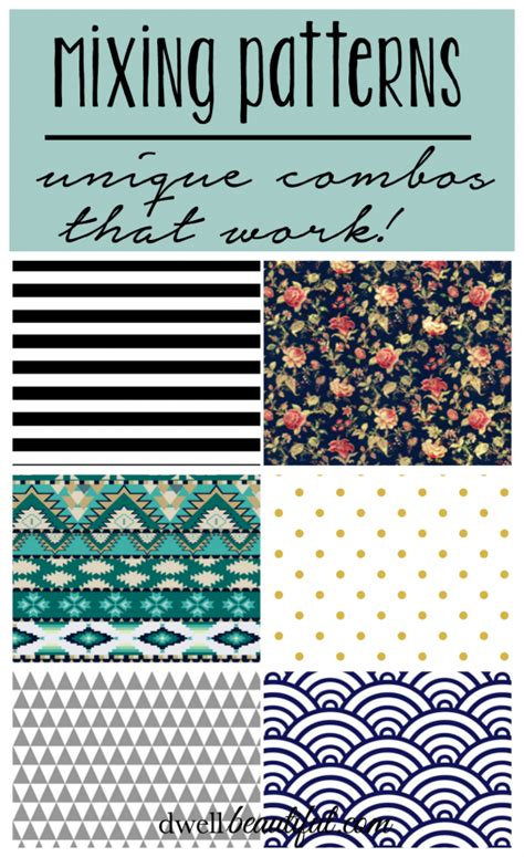 pattern mixing mixing patterns 3 unique combos that work dwell beautiful
