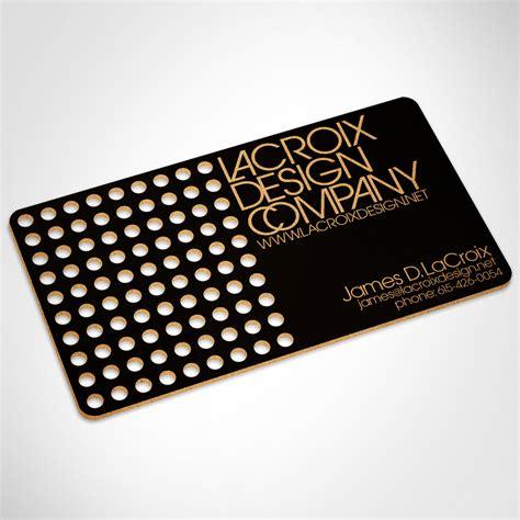 card company lacroix design company business card