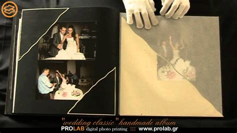 Handmade Wedding Photo Album - handmade wedding album quot wedding classic quot created