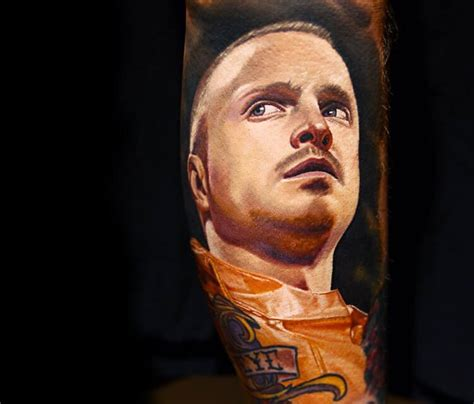 jesse pinkman tattoo pinkman from breaking bad by nikko hurtado no 125