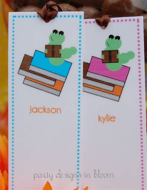 printable worm bookmarks 34 best bookworm party images on pinterest bookworm