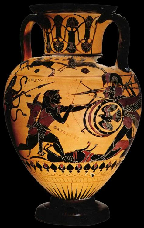 Ancient Greece Vase Painting by Black Figure Vase Painting Ancient Ancient