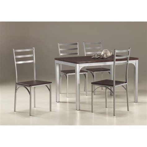 ensemble de table de cuisine ensemble table de cuisine et 4 chaises loire achat