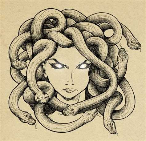 medusa by sefi on deviantart