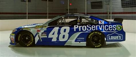 lowe s in richmond kentucky jimmie johnson running lowe s pro services scheme at auto