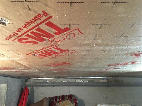 isolation plafond garage sous sol hotelfrance24