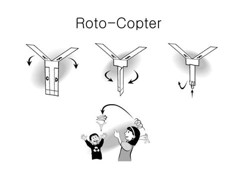 rotocopter template ppt 비행기의 원리 powerpoint presentation id 2974893