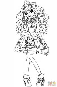 ever after high coloring pages cerise ever after high cerise hood coloring pages www pixshark