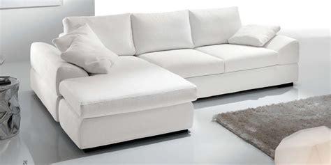 divani a penisola divano con penisola biel salotti in tessuto sfoderabile