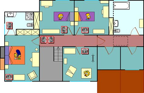 casa dei reale simps 242 n personaggi casa