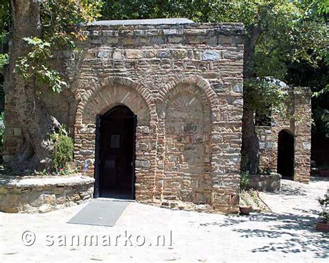 house of virgin mary ephesus turkey the house of virgin mary near ephesus turkey near kusadasi