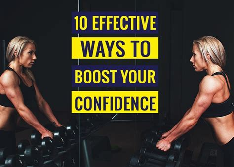 10 Effective Ways To Boost Your Self Confidence by 10 Effective Ways To Boost Your Confidence Revive Zone