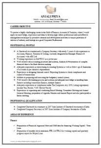 Excellent Resume Format by 10000 Cv And Resume Sles With Free Excellent Work Experience Chartered