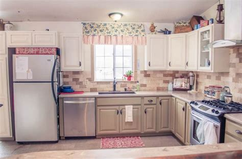 beautiful home decorating ideas 6 great mobile home kitchen makeovers mobile home living
