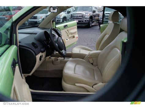 2004 Volkswagen Beetle Interior by Beige Interior 2004 Volkswagen New Beetle Gls 1 8t