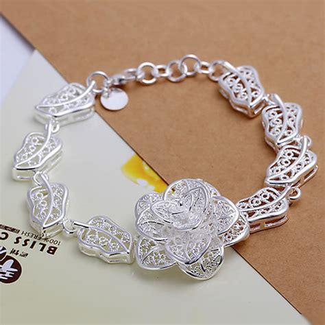 Gelang Tangan Sterling Silver 925 Fashion Wanita Versatile Bangles H244 925 Sterling Gelang Perak 2013 Fashion Perhiasan