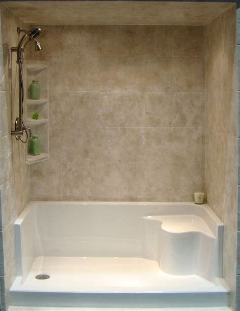 Shower Into Bathtub by 25 Best Ideas About Tub To Shower Conversion On