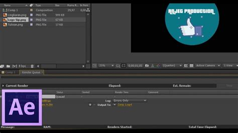 cara membuat intro video dengan after effect cara membuat intro chanel youtube di adobe after effect