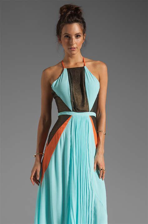 Dress Maxi Nabilah Maxi Mint suboo pleated maxi dress in mint in green lyst