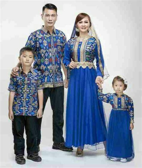 jual baju batik sarimbit keluarga family dengan 2