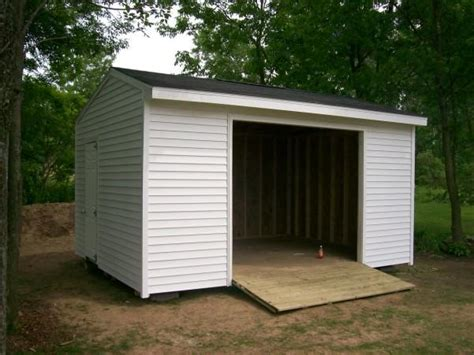 Vinyl Sided Sheds by 12x16 Vinyl Sided Shed From Sheds Shacks And Shelter In Le