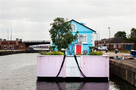 thames floating house londoners airbnb has a new listing a fully functioning
