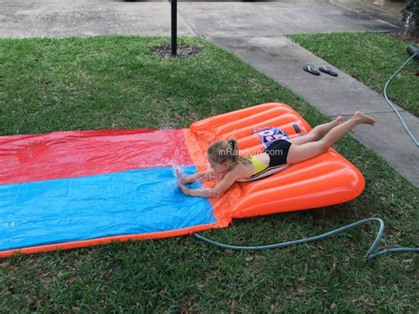 backyard waterslide backyard water slide reviews outdoor furniture design and ideas