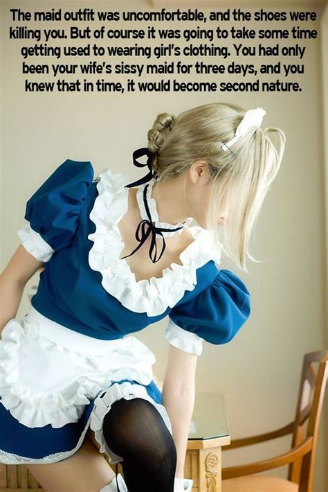 pinterest sissy maid captions becoming a sissy maid