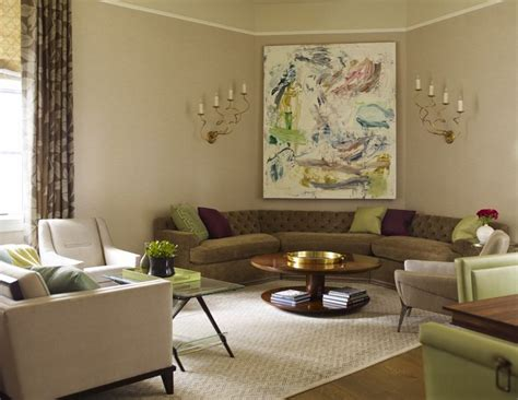 How To Furnish Living Room Corners by How To Find The Perfect Place For Your Curved Sofa Or