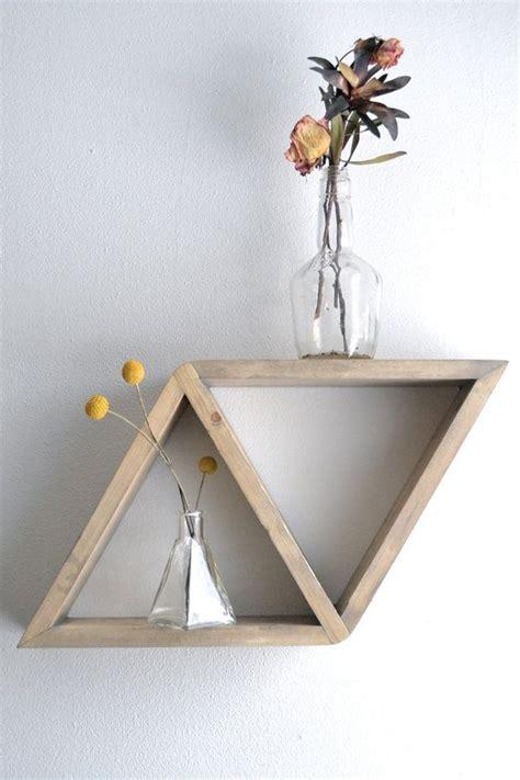 Unique Floating Shelves | floating shelves in unique shapes diy better homes