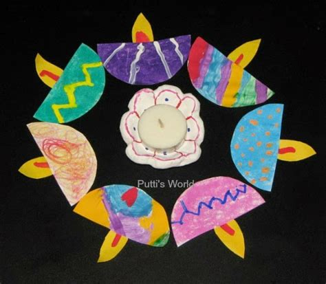 Diwali Paper Craft - 31 diwali diy craft ideas for