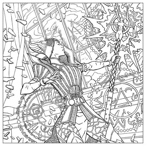 dragon age coloring page dragon age adult coloring book thinkgeek