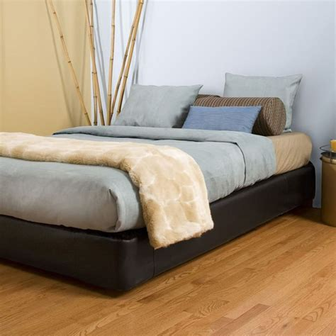 platform bed kit full size black platform bed kit