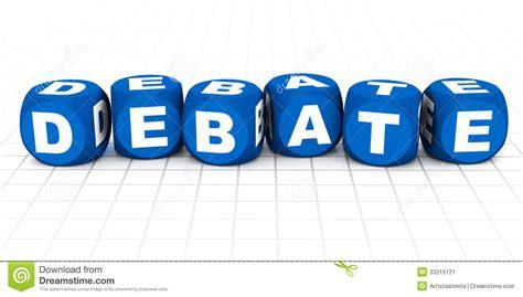 debate stock image image 33215121