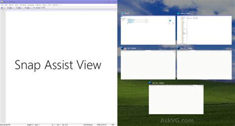 windows 10 snap tutorial windows 10 tip registry tweaks to customize ui of alt