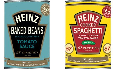 heinz design label heinz introduces retro packaging for diamond jubilee